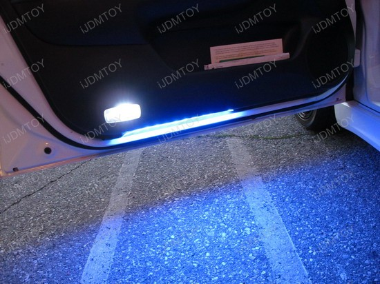 Acura - TSX - white - led - interior - lights - 2